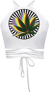 Womens Teens Girls Juniors Halterneck Sexy Vest Crop Top