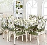 XINGYUNXING Pastoral Spitze Tischdecken, Tischdecken, Tischdecken, Tischdecken Stuhlkissen,...
