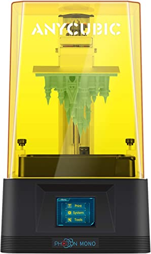 ANYCUBIC Photon Mono 3D Printer, UV LCD Resin 3D Printer Fast Printing with 6.08'' 2K Monochrome LCD, Off-line Print ...