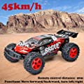 Hot BG1518 RC Car 1/12 2.4G 4WD High Speed Desert Buggy RC Off-Road Vehicle Rechargeable Climbing Crawler Off-Road RC Car for Adults and Children