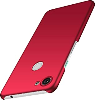 anccer Compatible for Google Pixel 3A Case [Colorful Series] [Ultra Thin Fit] Premium PC Material Slim Cover for Google Pixel 3A (Red)