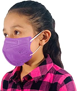 M95c Disposable 5-Layer Efficiency Protective Kid/Toddler Face Mask Breathable Material and Comfortable Earloop Made in US...