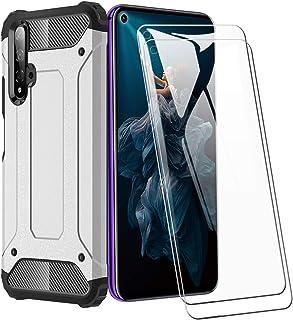 XIFAN Funda para Huawei Nova 5T / Honor 20s, protección contra Golpes de TPU + PC Resistente a arañazos (Doble Capa) Carca...