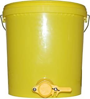 Germerott Bienentechnik Abfülleimer 25 kg mit Quetschhahn