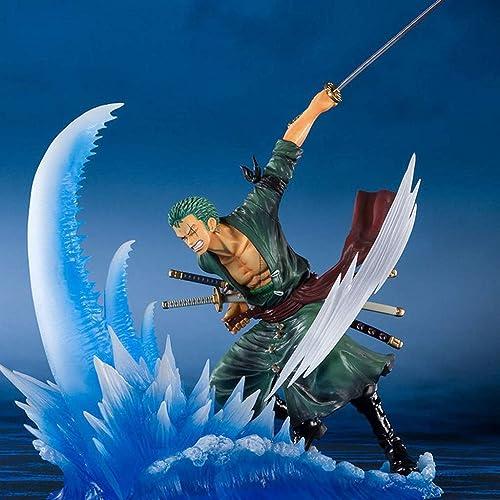 SYLOZ Anime Charakter Modell Sauron EIN Messer Flow Statue Dekoration Film Charakter Handwerk statische Statue H  19cm Spielzeug