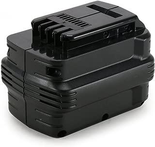 REEXBON 24V 2.0Ah Replacement Battery for Dewalt DE0240 DE0241 DE0243 DW0240 DW0242 DW007 DW007K DW004 DW005 DW006 DC223KA DC222KA DC224KA