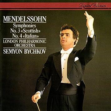 Mendelssohn: Symphonies Nos. 3 & 4