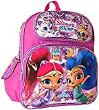 Disney Shimmer And Shine Kids 12' Small Toddler School Backpack Canvas Book Bag