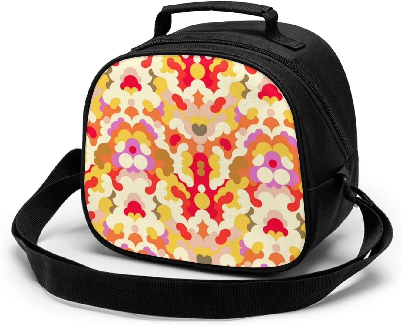 Abstract Special price for a limited time Pattern Reusable Lunch Bag For Kids Insulated To Opening large release sale