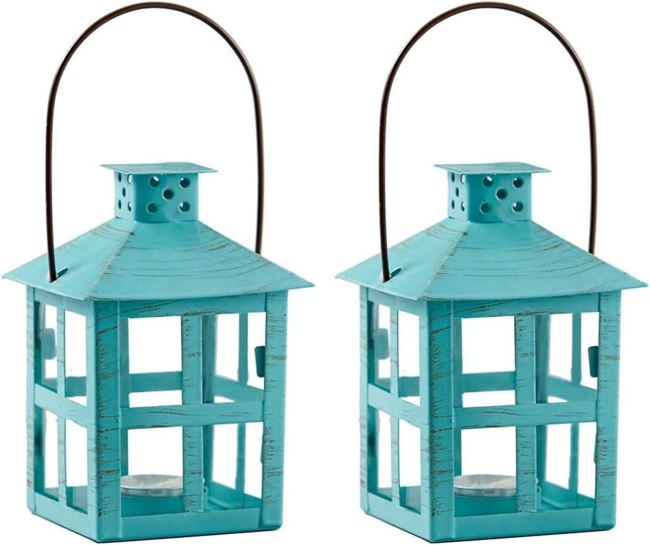 Kate Aspen Decorative Lanterns - Time sale famous Set Metal Lanter Vintage of 2