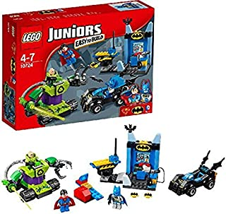 LEGO Juniors 10724 - Batman i Superman przeciwko Lex Luthorowi, super bohaterom