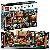 LEGO 21319 Ideas Central Perk Set de Construcción de Cafetería de Serie Friends con Mini Figuras para Niños +16 años