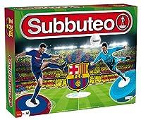 Topejo Consulting SUB63577 Nein Subbuteo Jeu :FC Barcelone (multilingue), Jeu