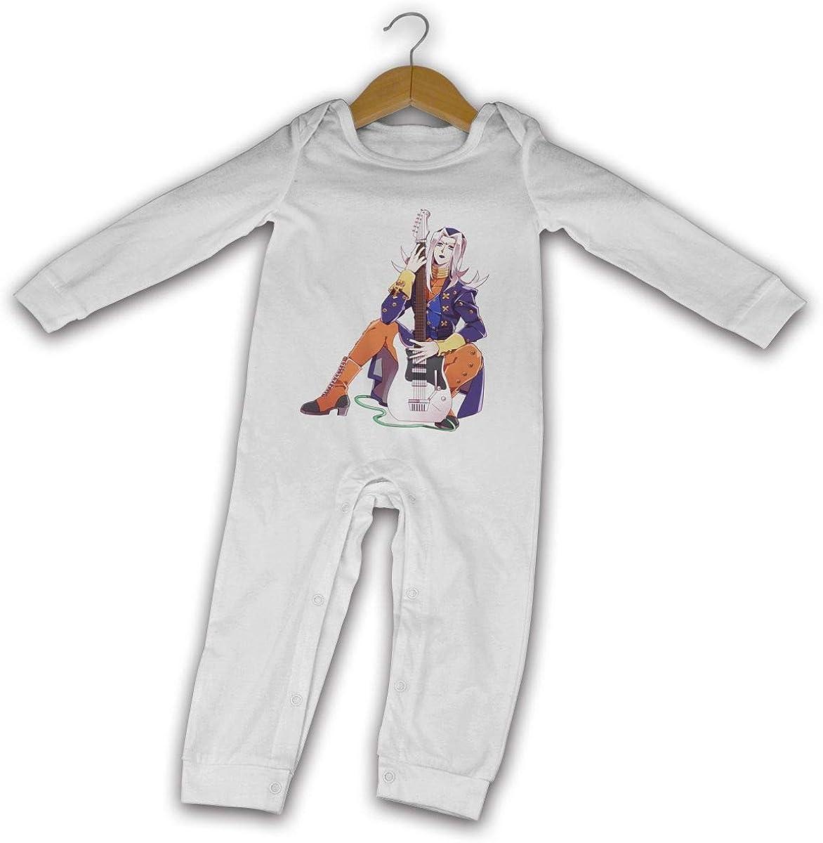 RZJMRU Leone Abbacchio JoJo Romper 2020 Onesies Black Baby Jumpsuits Long Sleeve