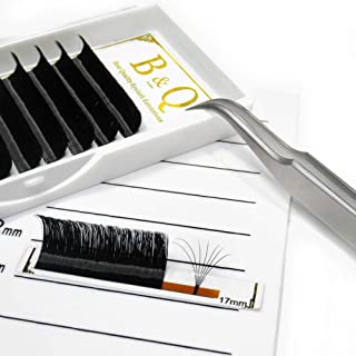 Volume Lash Extensions Easy Fan Volume Lashes .05 .07 .10 Rapid Blooming Eyelash Extensions C D curl Flowering Lash Extensions Mega Volume Lash Extensions (D-0.07-12-17 MIX)