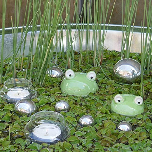 Gartenzaubereien -   Schwimmfrösche 2er