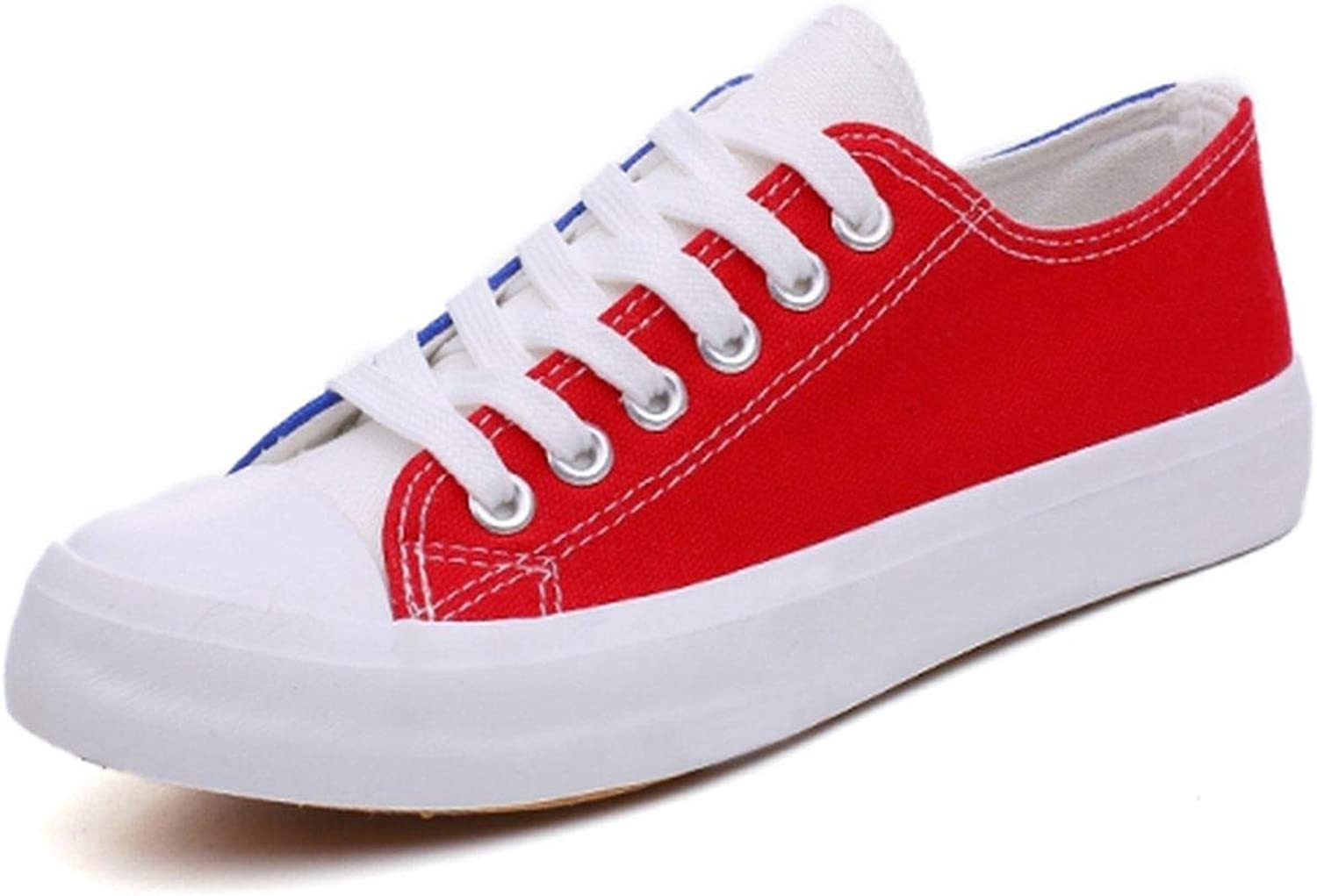 Women Vulcanized Sneakers Breathable Flats Casual colorful shoes