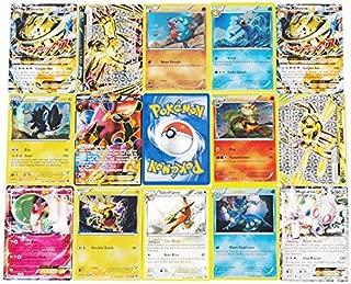 100PCS NEW Pokemon TCG Card lot Rare, Common, Unc, Holo & Guaranteed Ex Full