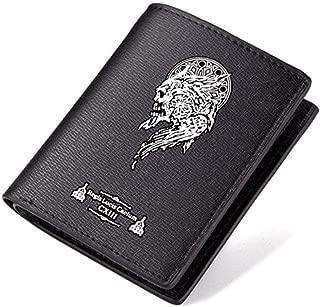 Final Fantasy XIII Pu Leather Bi-Fold Wallet Black For Men
