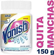 Vanish Quitamanchas en Polvo, color Blanco, 150 g, Paquete de 12