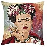 pad - Kissenhülle - Kissenbezug - Frida - red/rot - 45 x 45 cm