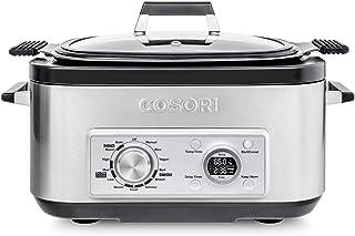COSORI Multicooker 6 QT 11-in-1 Programmable Slow, Rice Cooker, Brown, Saute, Boil, Steamer, Yogurt Maker, Auto-Warmer, De...