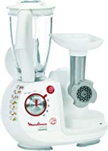 Moulinex Odacio Food Processor, FP7371BA, 1000 watts, juice+ mince+ blend, White, Plastic