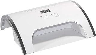 ZHYJJ 2 en 1 Lámpara de uñas y 60W Uña Colector de Polvo con 2 Ventilador Potente 36 Leds Uña Secadora Vacío Limpiador Manicura Herramientas