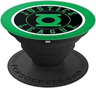 Justice League Green Lantern Athletic Logo PopSockets Grip and Stand for Phones and Tablets