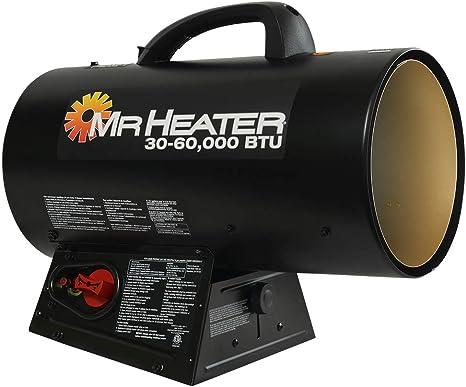 Mr. Heater MH60QFAV 60,000 BTU Portable Propane Forced Air Heater: image