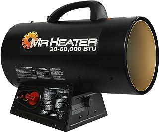 Mr. Heater mh60qfav 60.000BTU Portable propano Calentador de Aire Forzado