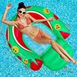 Best Beach Chairs For Kids - Inflatable Float Lounge, Inflatable Pool Float, Multi-Purpose Pool Review