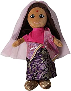 "Around the World 15"" Indian Plush Doll"