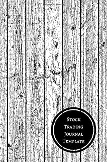 Stock Trading Journal Template: Mini Trading Log