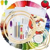 Similane Embroidery Kit 215 Pcs,100...
