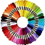 Rainbow Color Embroidery Floss - Cross Stitch Threads - Friendship Bracelets Floss - Crafts Floss