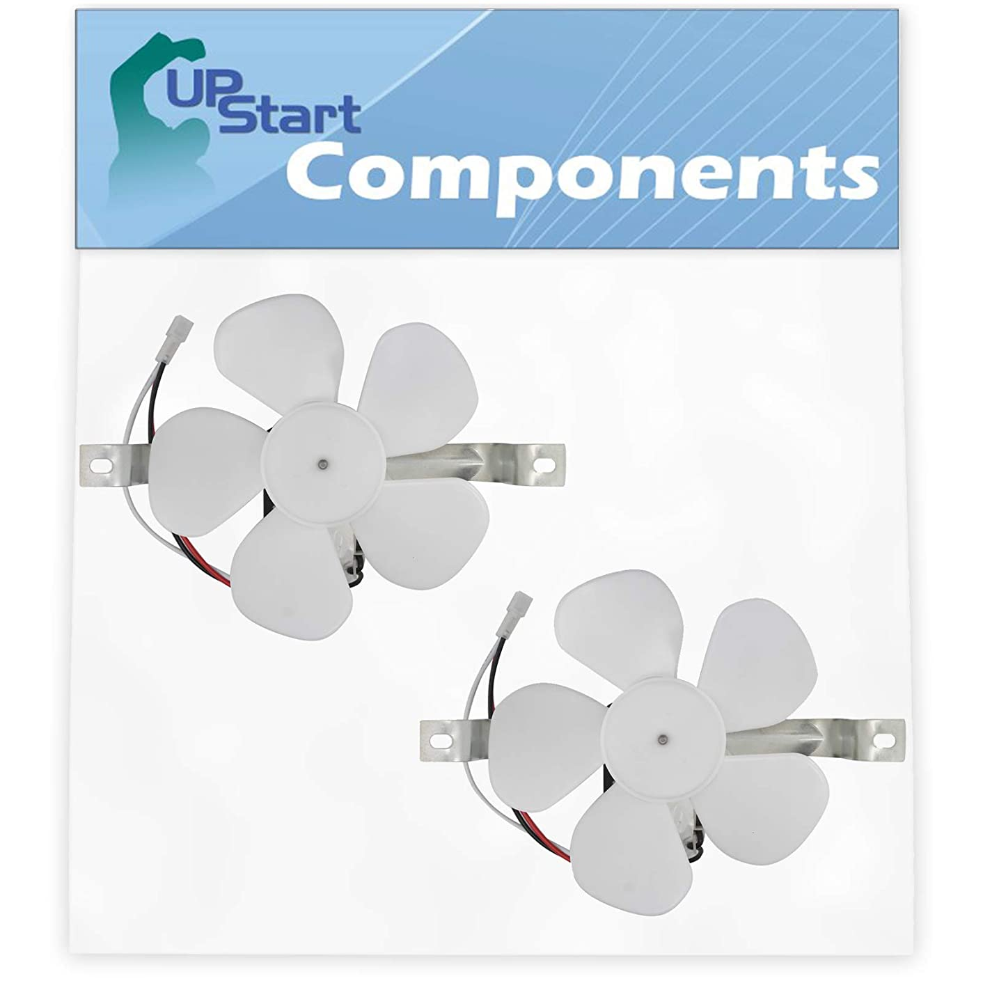2-Pack 97012248 Range Hood Fan Motor Replacement for Kenmore/Sears 23351749590 Range Hood - Compatible with S97012248 Motor Fan - UpStart Components Brand