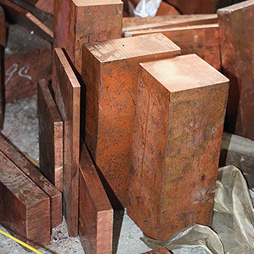 1PCS / lotYT1367BCopper Row 10 * 20 * 100 mmKupfer -StickFreies VerschiffenT2 Kupferbarren Kupfer Billet TMY KupferblockDIY