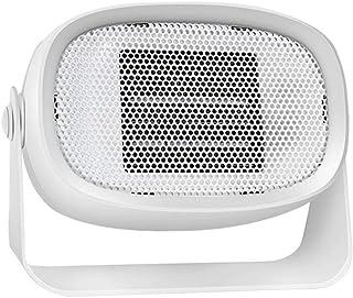 HM&DX Cerámica Portátil Calefactor de Espacio para Inicio Oficina,Calor instantáneo Bajo Consumo Silenciosa Mini Calefactor eléctrico-Blanco