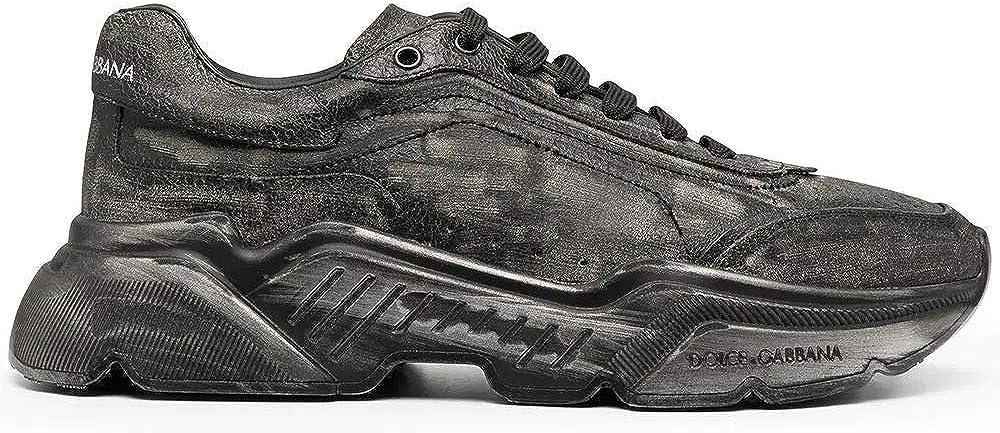 Dolce & gabbana sneakers in pelle per uomo CS1791AW91880999