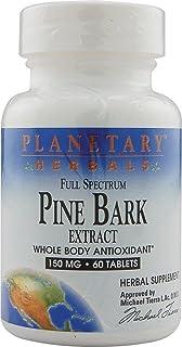 Full Spectrum Pine Bark Extract 150mg Planetary Herbals 60 Tabs