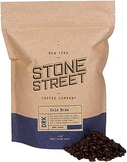 Stone Street Coffee Cold Brew Reserve Colombian Supremo Whole Bean Coffee - 1 lb. Bag - Dark Roast