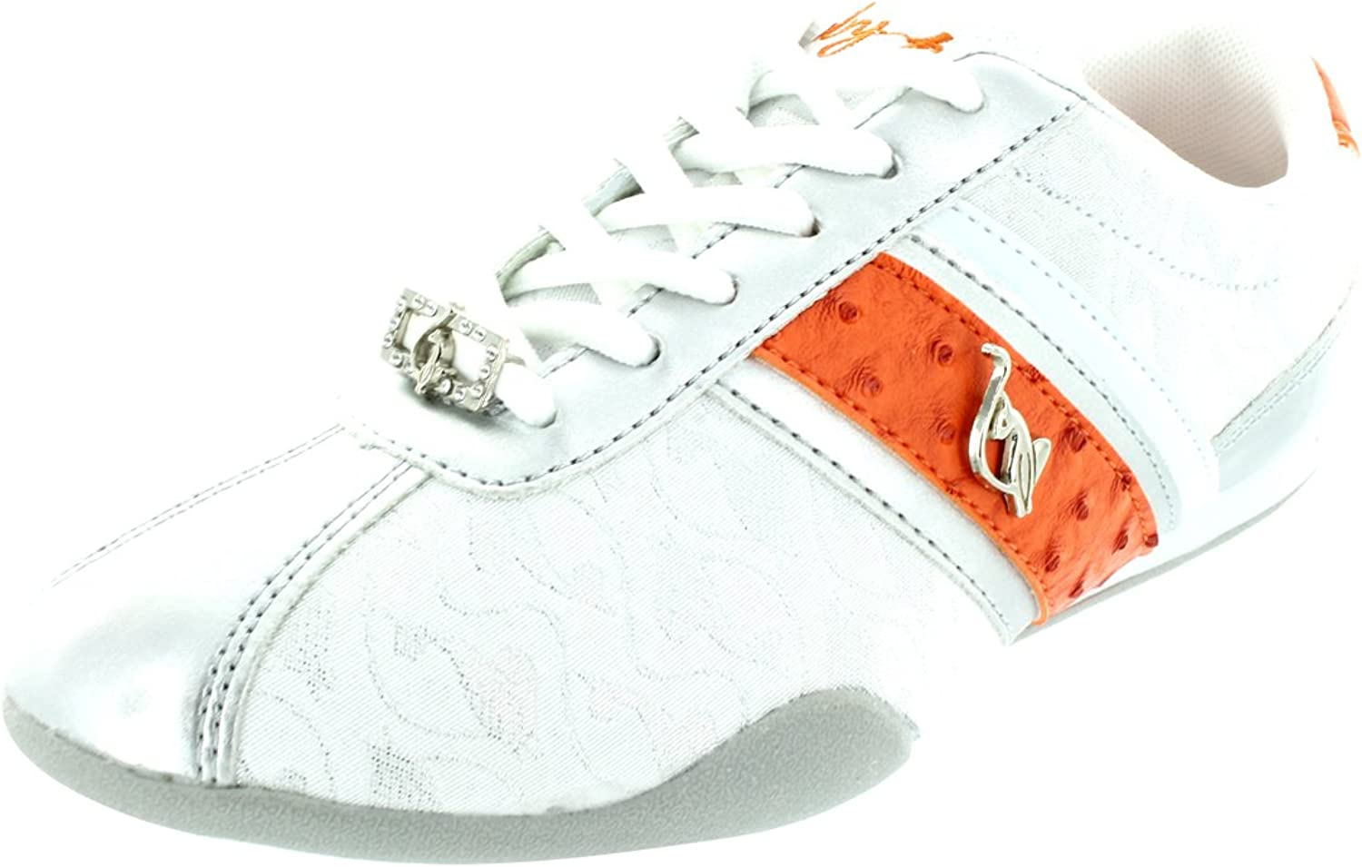 Baby Phat Women's Estelle Fashion shoes 7 Women US (White Coral)
