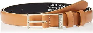Calvin Klein Women's WINGED 2.0 Belt, Brown, 80 cm