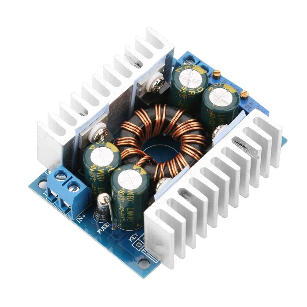 8A DC-DC Step-Down/Up Voltage Converter Module 5-30V to 1.25-30V Adjustable Buck/Boost Voltage Regulator Module for Voltage Conversion
