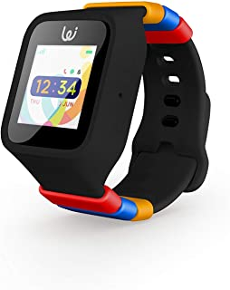 iGPS Wizard Smart Watch for Kids with SIM Card - Live GPS Tracking - Cellular Voice & Text - Adjustable - Water Resistant - SOS, Danger Zone & Device Removal Alerts - LED Touch Screen Display (Black)