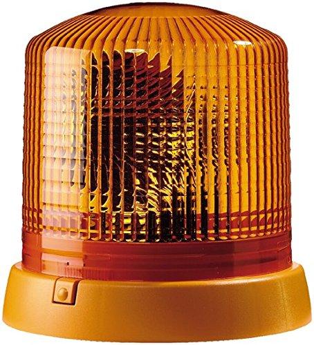 HELLA 2RL 008 065-101 Rundumkennleuchte - KL 8000 - Halogen - H1 - 12V - Lichtscheibenfarbe: gelb - Anbau