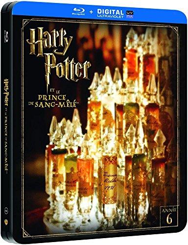 Harry Potter et le Prince de Sang-Mêlé - Edition limitée Steelbook - Année 6 - Le monde des Sorciers de J.K. Rowling - Blu-ray [Édition Limitée boîtier SteelBook]