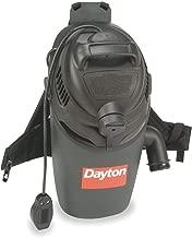 Dayton Backpack Vacuum Cleaner, 16 qt, 12A - 1TFX2