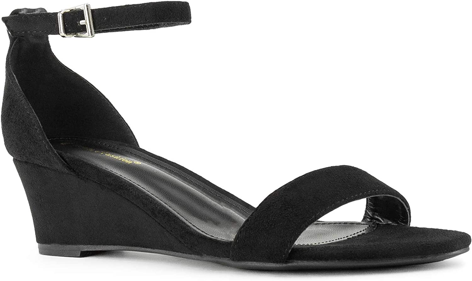 RF ROOM OF Indianapolis Mall FASHION Women's True Max 43% OFF Wide Platf Width Ankle Strap Low